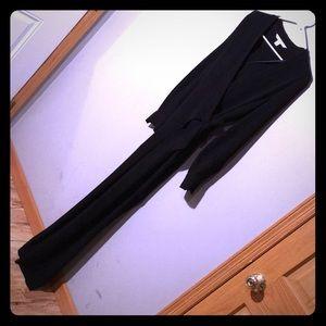 Diane VonFurstenberg Black wrap jumpsuit